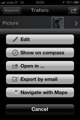 Waypoint Options